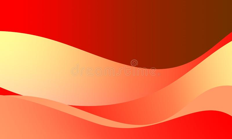 Abstract  Vector Illustration. red wallpaper any uses for backgrounds or screen saver bright red- pink smoothly colors Background. Abstract bright red dark royalty free illustration