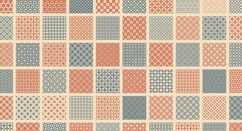 Abstract vector Illustration. Simple graphic design. Pattern for textile printing, packaging, wrapper, etc.  stock illustration