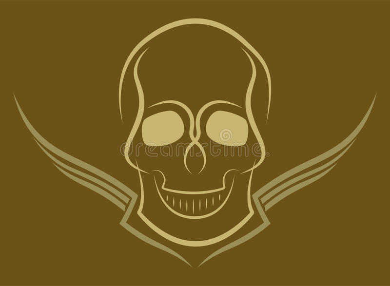 Download Skull stock vector. Image of illustration, angry, death - 29788281