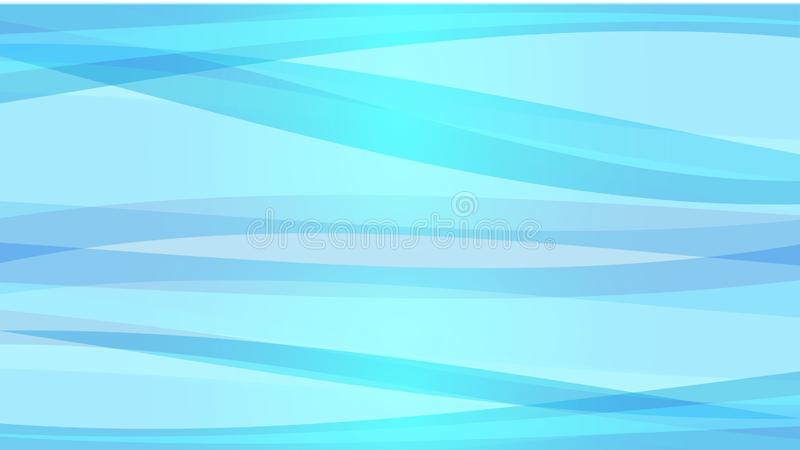 The Abstract vector image Blue wave on white background. Abstract vector image Blue wave on white background royalty free illustration