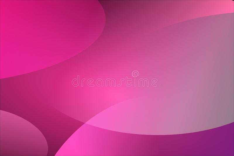 Abstract Vector Magenta color Wavy Background royalty free illustration