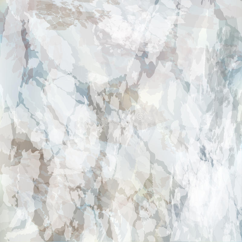 Free Abstract Vector Marble Texture Background. White Gray Brown Stone Rock Pattern. Nature Effect Surface Decoration Royalty Free Stock Photography - 93891607