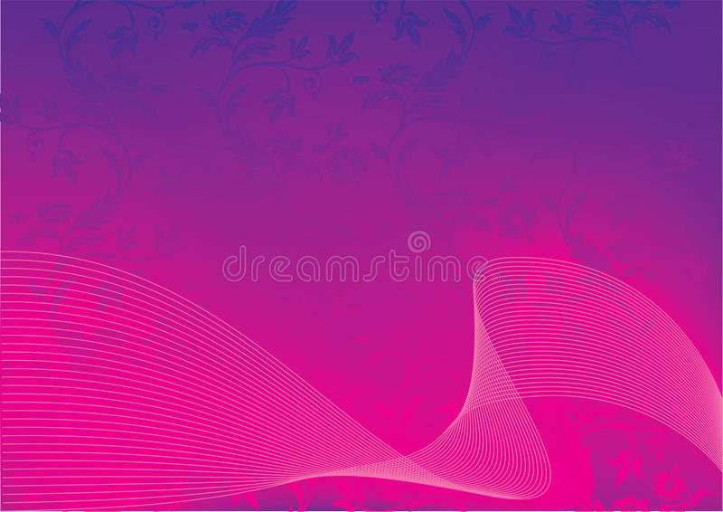 Abstract vector pink background. Vector stock illustration