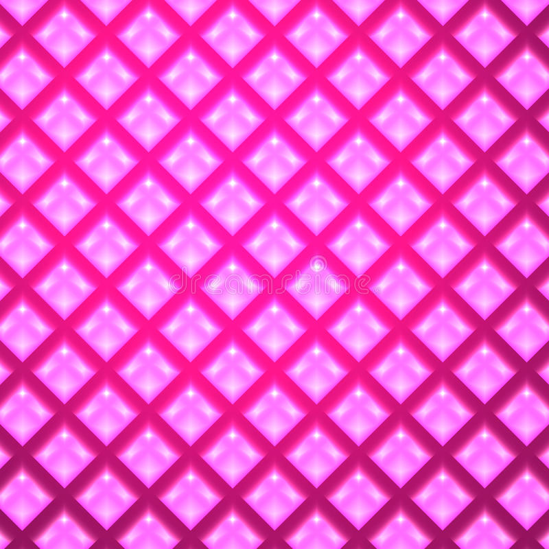 Abstract Vector Pink Background. Shiny Abstract Vector Pink Background stock illustration