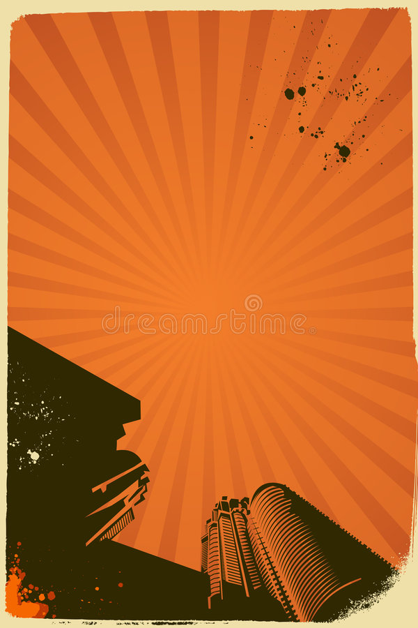 Abstract vector poster stock photography