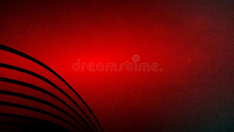 Abstract vector red shaded wavy background wallpaper. vivid color vector illustration. royalty free stock image