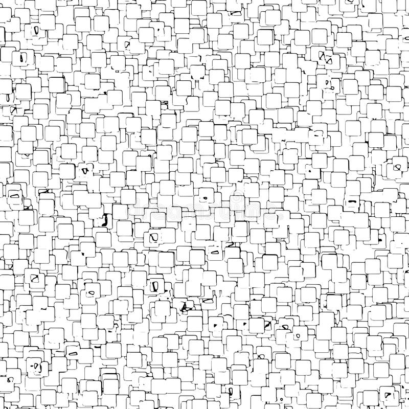 Abstract Vector Seamless geometric pattern Black and white stock photography