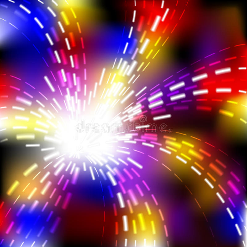 Download Abstract Vector Shiny Wave Explosion Background Stock Images - Image: 18653964