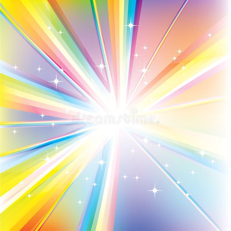Abstract Vector Spectrum vector illustration