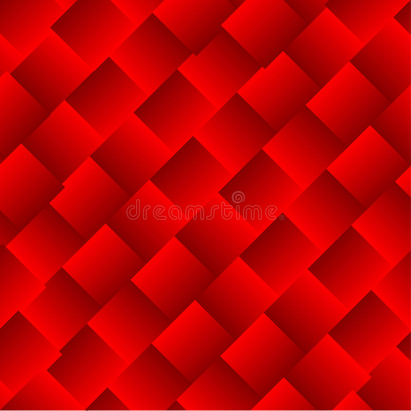 Abstract vector squares red background royalty free stock photos