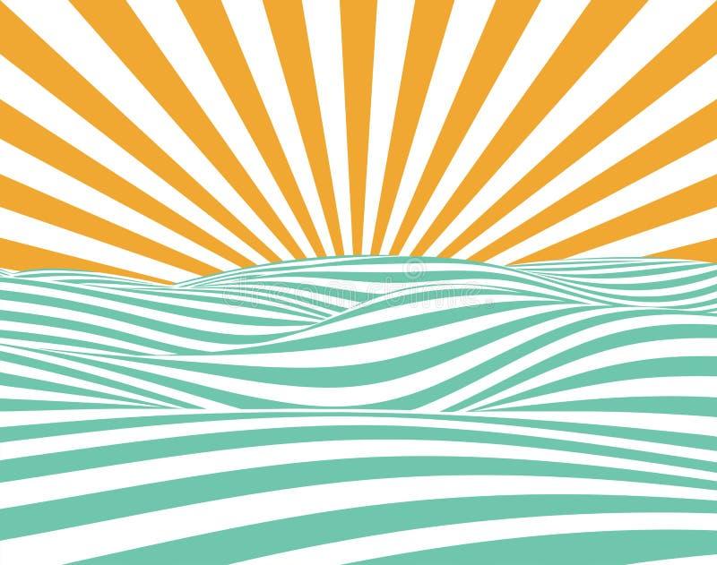 Abstract Vector Summer vector illustration