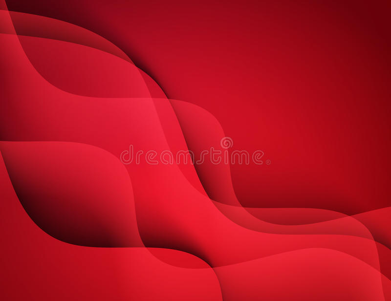 Abstract vector template design, brochure with colorful red waves backgrounds. vector illustration