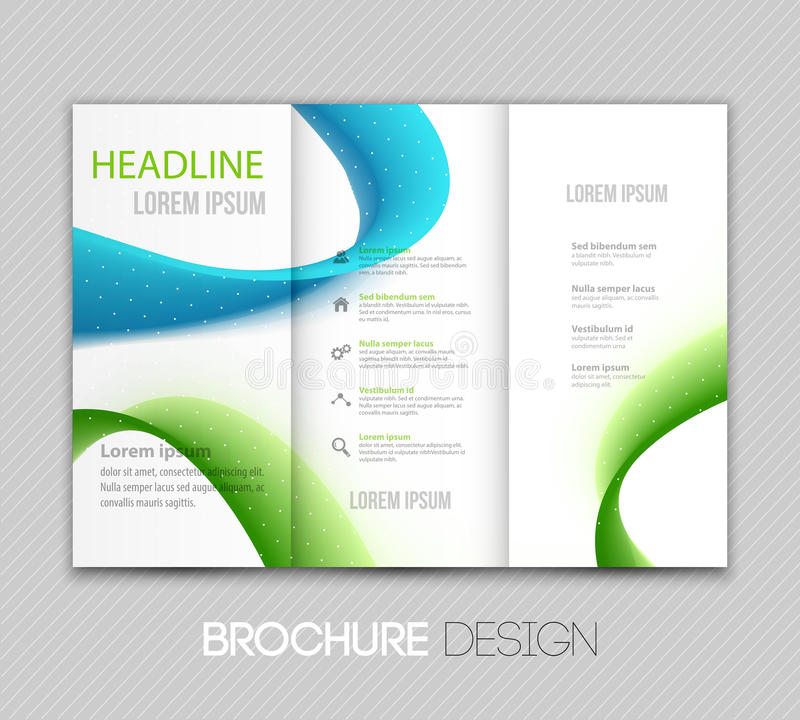 Abstract vector template design, brochure, page, leaflet, with colorful geometric triangular backgrounds vector illustration