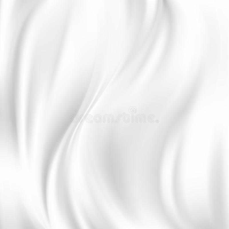 Abstract Vector Texture, White Silk. Beautiful White Silk. Drapery Textile Background, Mesh Vector Illustration vector illustration
