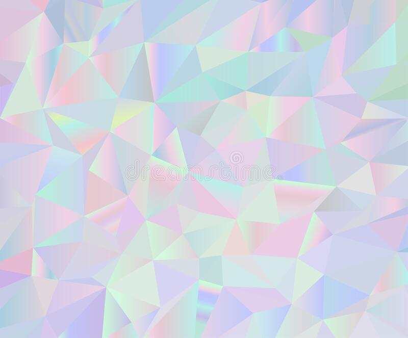 Pastel Colors Inspired From The 80s 90s Aesthetics Holographic Low Poly Design Stock Illustration Illustration Of Banner Melt 150455168