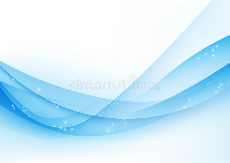 Abstract vector wave vector illustration