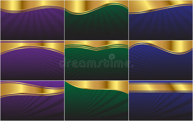 Abstract Vector Web Background Collection. A collection of background s formatted to a 1680 X 1050 resolution wide-screen display aspect ratio. Perfect as a web stock illustration