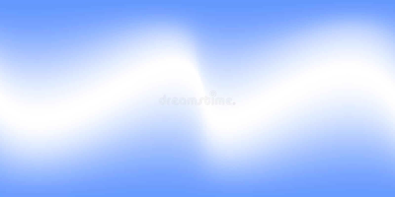 Abstract vector white fog on blue background,fog or smoke special effect vector illustration royalty free illustration