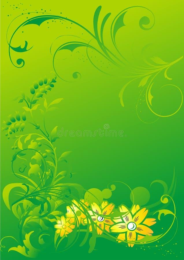 Download Abstract Vegetative Ornament Stock Vector - Illustration: 8706974