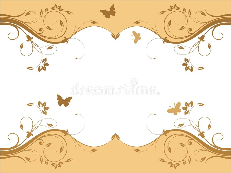 Abstract vers bloemenontwerp stock illustratie