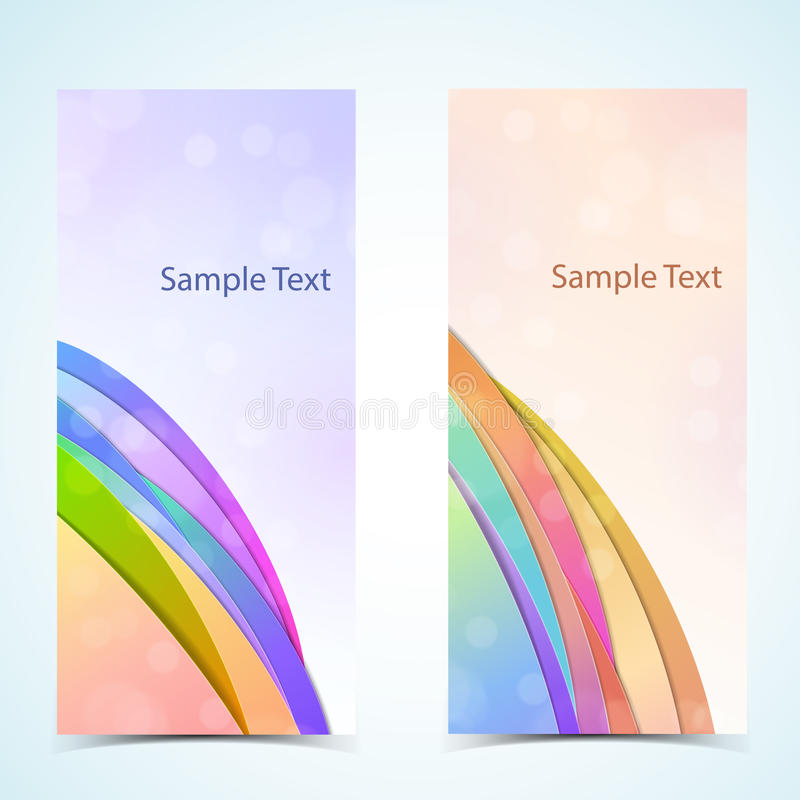 Download Abstract Vertical Banners Set Stock Vector - Image: 28931117