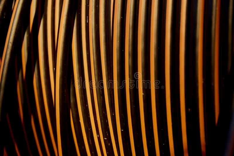 Abstract vertical cable wire. Background royalty free stock photo