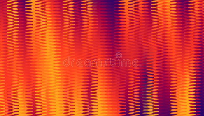 Abstract vertical gradient zigzag tangle. colorful beautiful background design. vector illustration eps10. Abstract vertical gradient zigzag tangle. colorful royalty free illustration