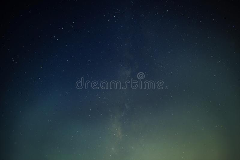 The abstract of the vertical Milky Way.  stock photos