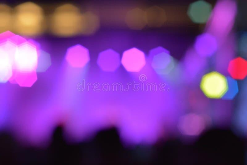 Abstract vervagen paarse lichtachtergrond royalty-vrije stock fotografie
