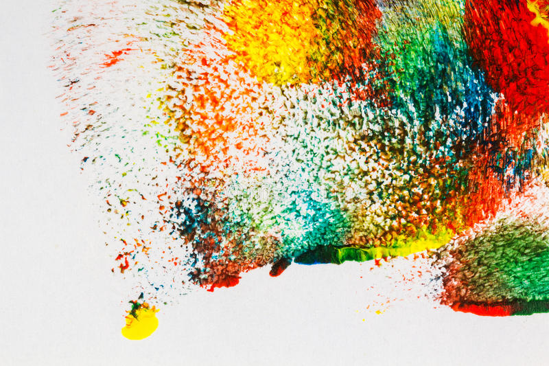 Abstract vibrant acrylic art background stock illustration