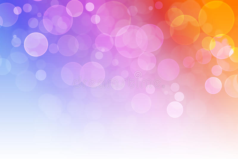 Blurred vibrant Bubble royalty free stock photo