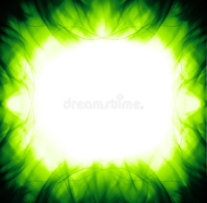Abstract vibrant green backgrounds vector illustration
