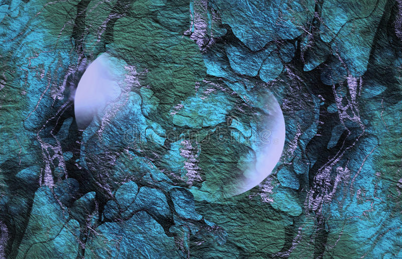 Abstract Vibrant green blue texture, Background stock photo