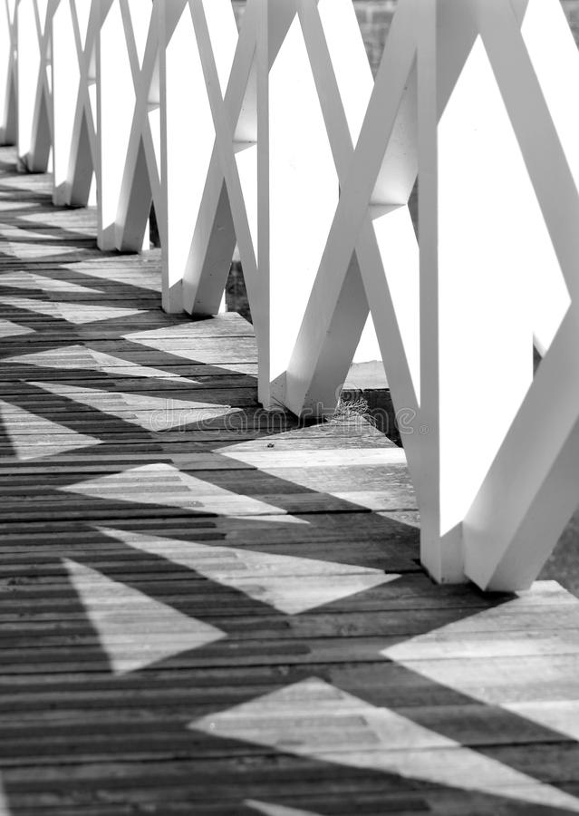 Abstract view of bridge detail royalty free stock images