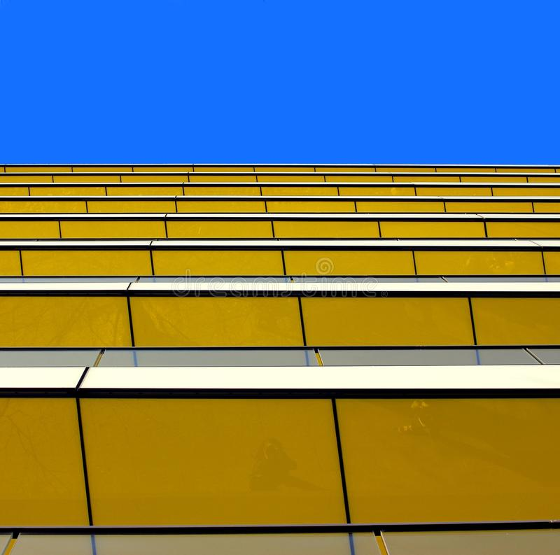 Download Abstract View Of A Yellow Building Against A Summe Stock Photo - Image: 24539872