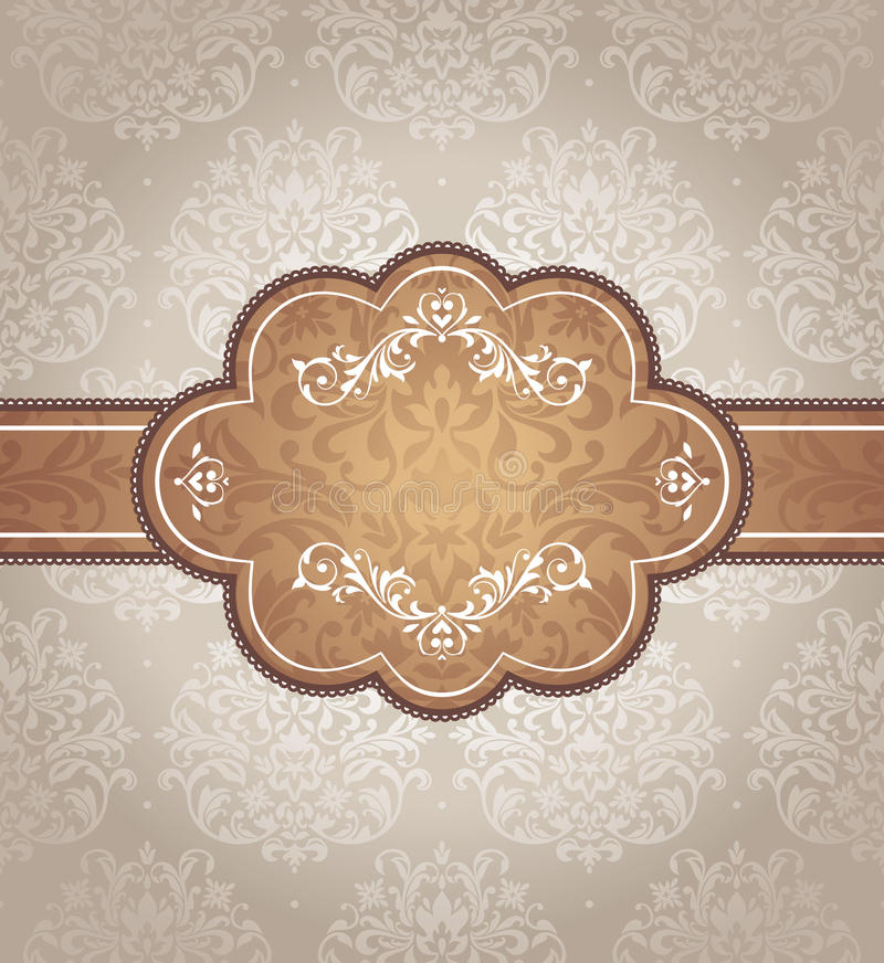 Download Abstract vintage frame stock vector. Illustration of romance - 23389952