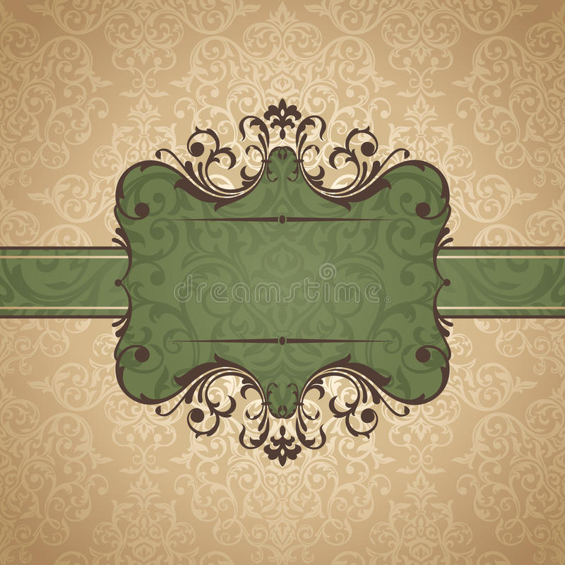 Download Abstract vintage frame stock vector. Illustration of design - 23389986