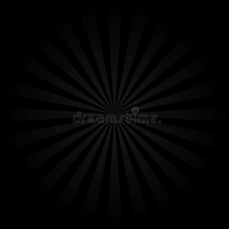 Abstract vintage rays background vector illustration