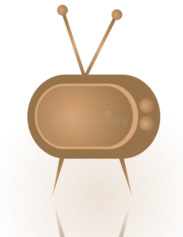 Download Abstract Vintage Tv Royalty Free Stock Photos - Image: 8043488