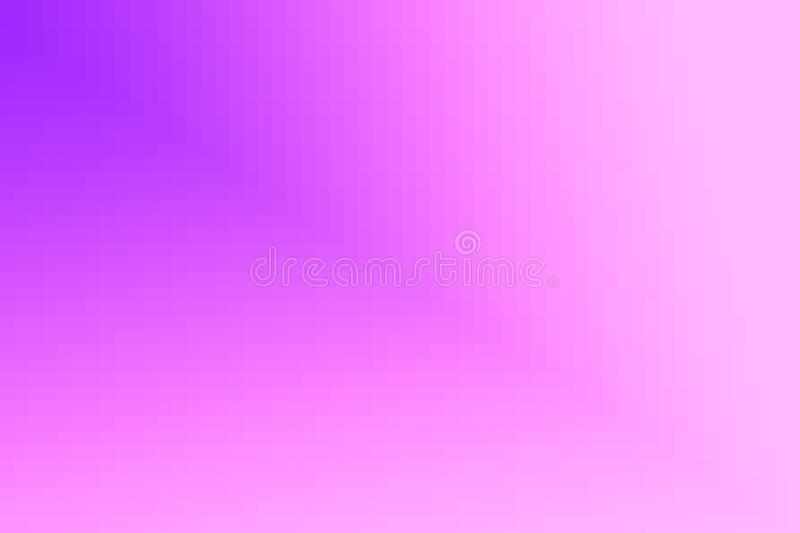 Abstract violet and pink diagonal gradient background. Texture with pixel square blocks. Mosaic pattern royalty free illustration
