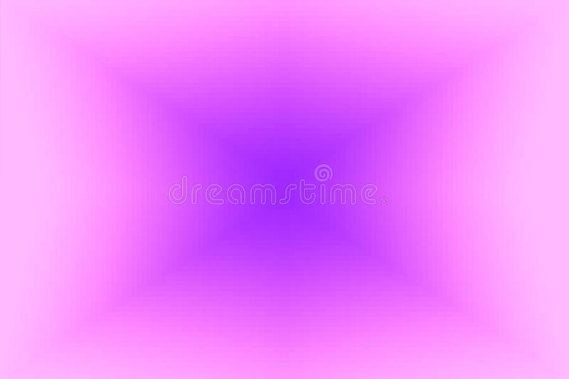 Abstract violet and pink radiant gradient background. Texture with pixel square blocks. Mosaic pattern royalty free illustration