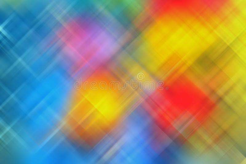 Abstract Vivid Colored Graphic Blurred Background stock photos