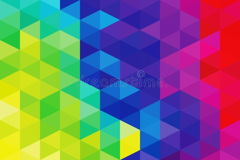 Abstract vivid rainbow colors background royalty free stock image