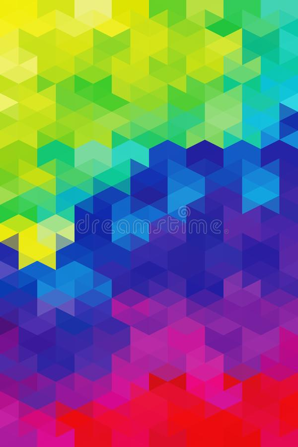 Abstract vivid rainbow colors background stock photo