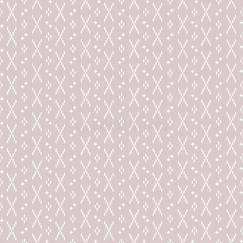 Abstract vormen naadloos patroon royalty-vrije stock afbeelding