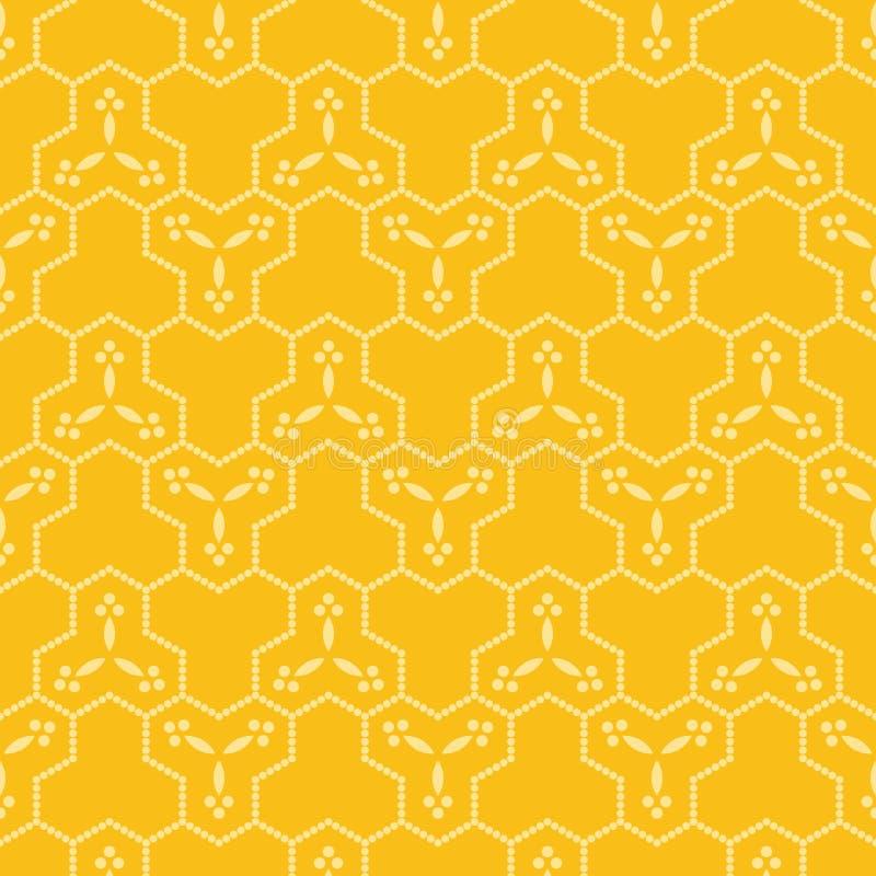Abstract vormen naadloos patroon stock afbeelding