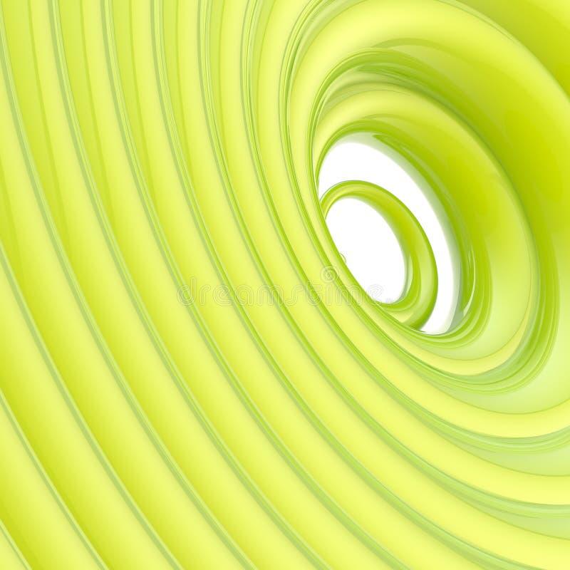 Abstract Vortex Twirl Wavy Background Stock Image