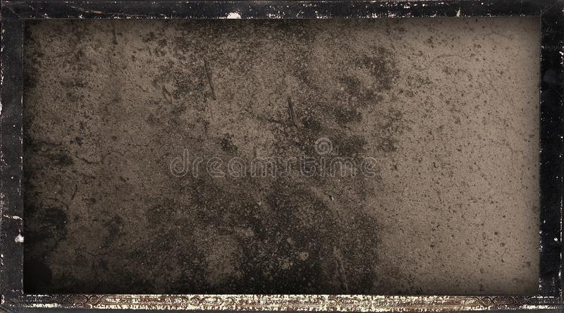 Abstract wall rustic framed edges corner black scratches texture background wallpaper. vector illustration