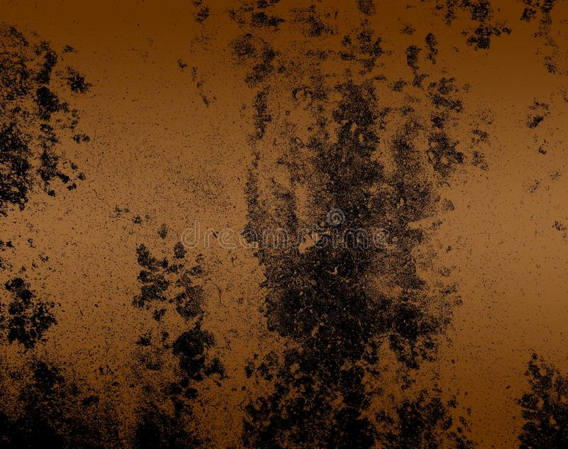 Abstract walnut brown color mixture multi colors effects Background. Many uses for advertising, book page, paintings, printing, mobile wallpaper, mobile royalty free illustration