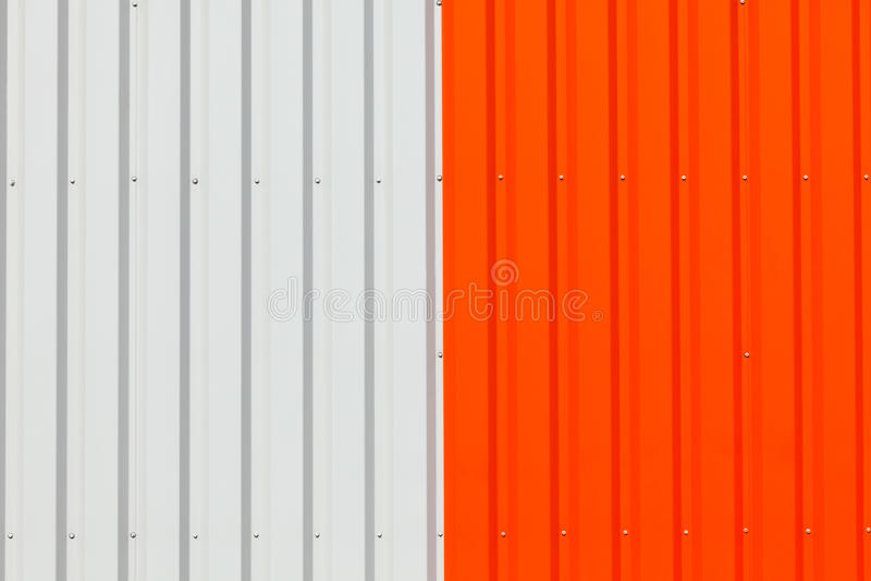 Abstract Warehouse Wall Exterior Stock Photo